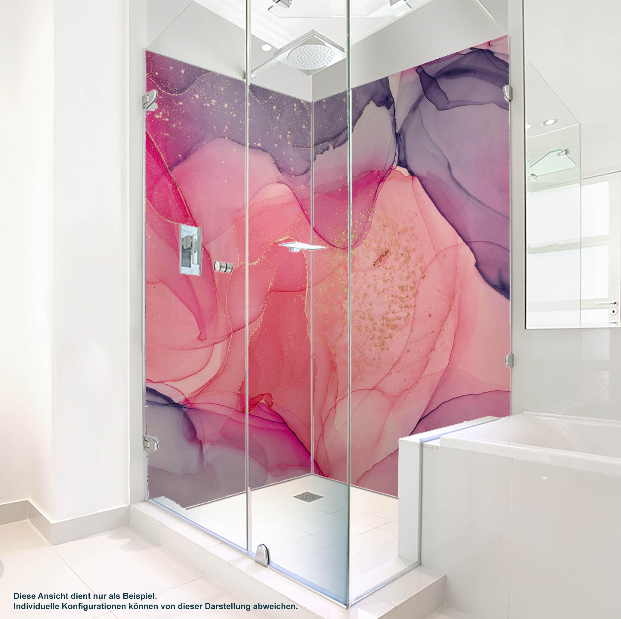 Dusche PlateART Duschrückwand mit Motiv Design