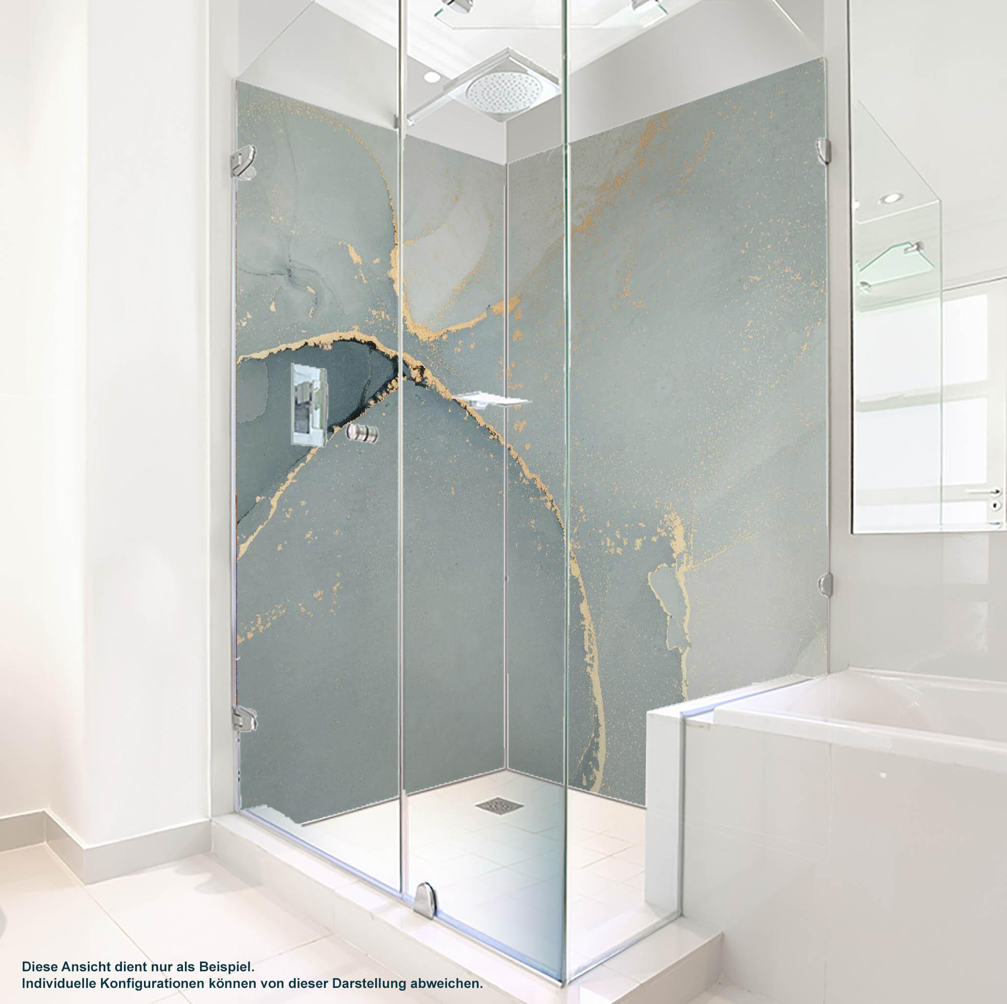 Dusche PlateART Duschrückwand mit Motiv Trendwand