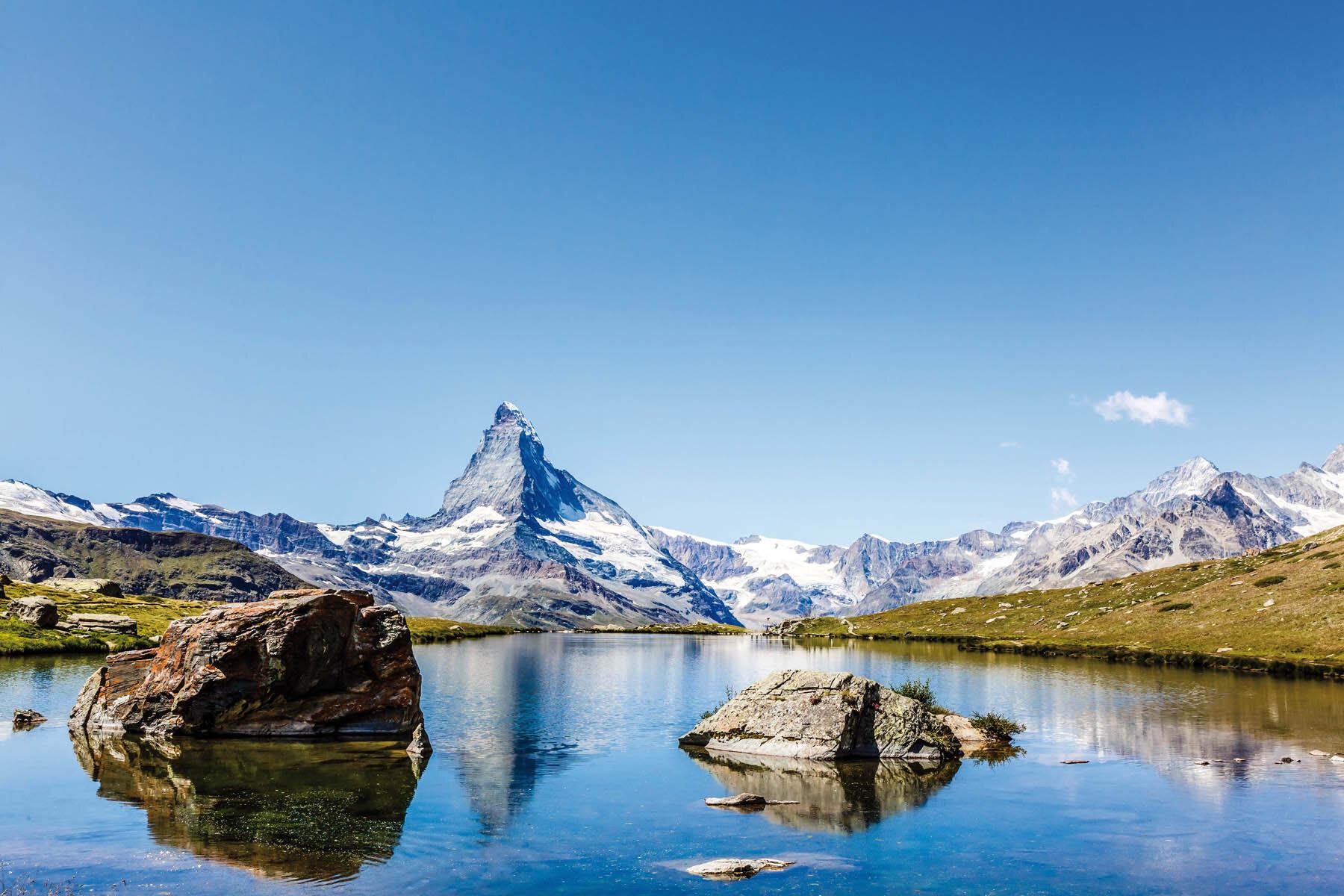 PlateART Duschrückwand mit Motiv Bergsee BS_09_20