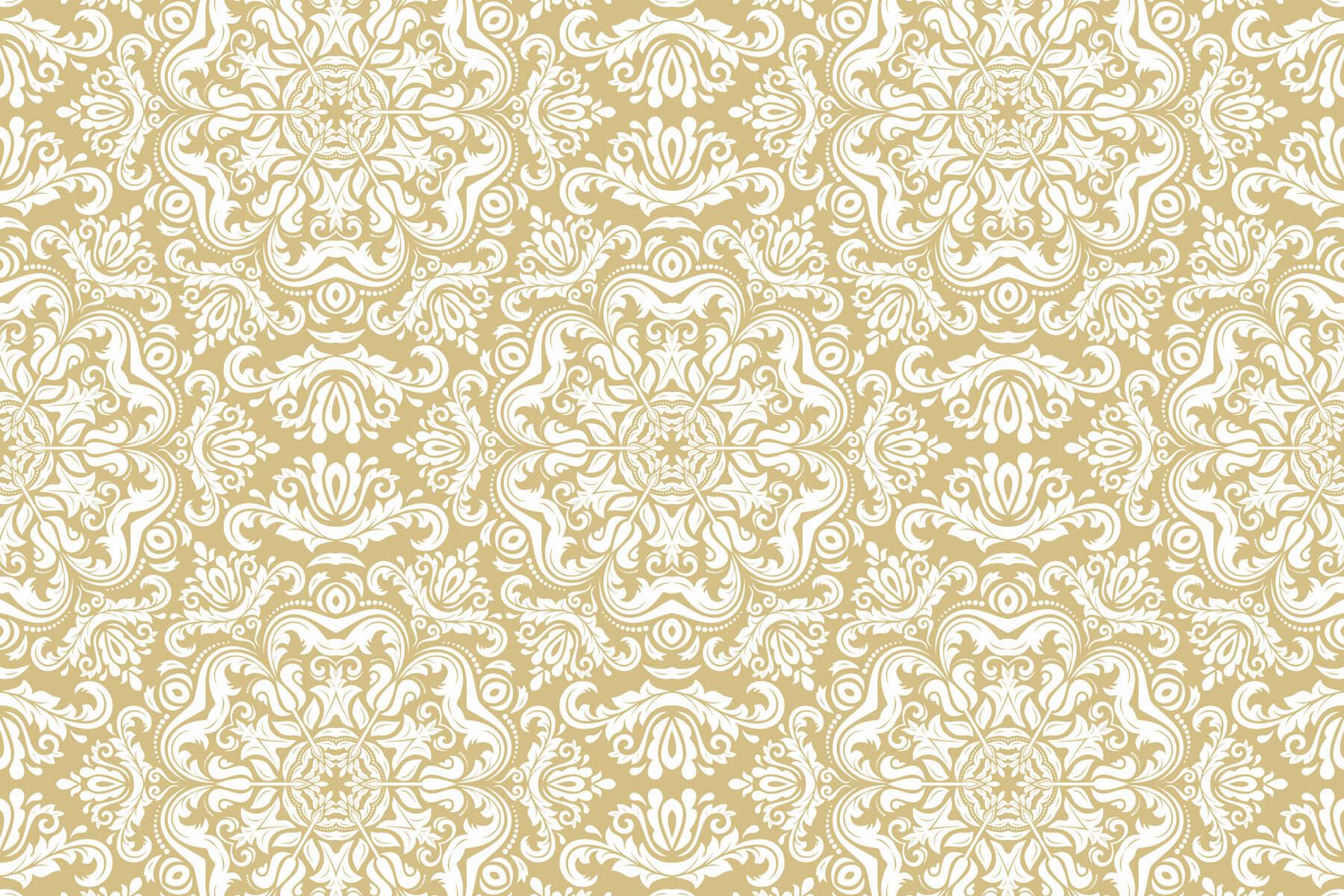 PlateART Duschrückwand mit Motiv Ornament Beige