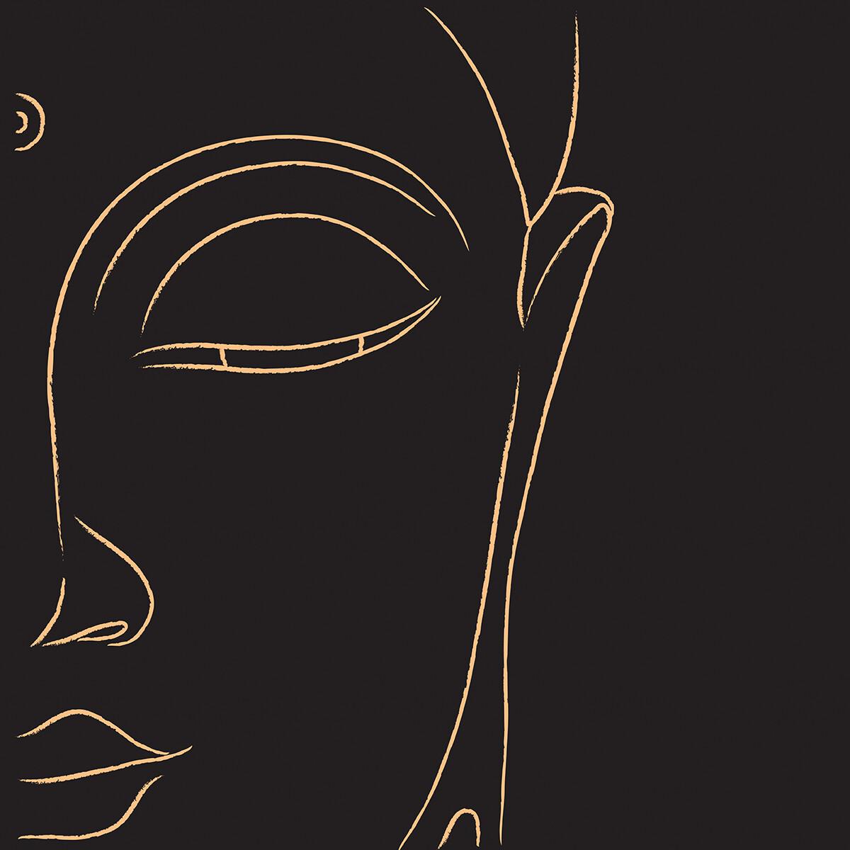 PlateART Duschrückwand mit Motiv Buddha