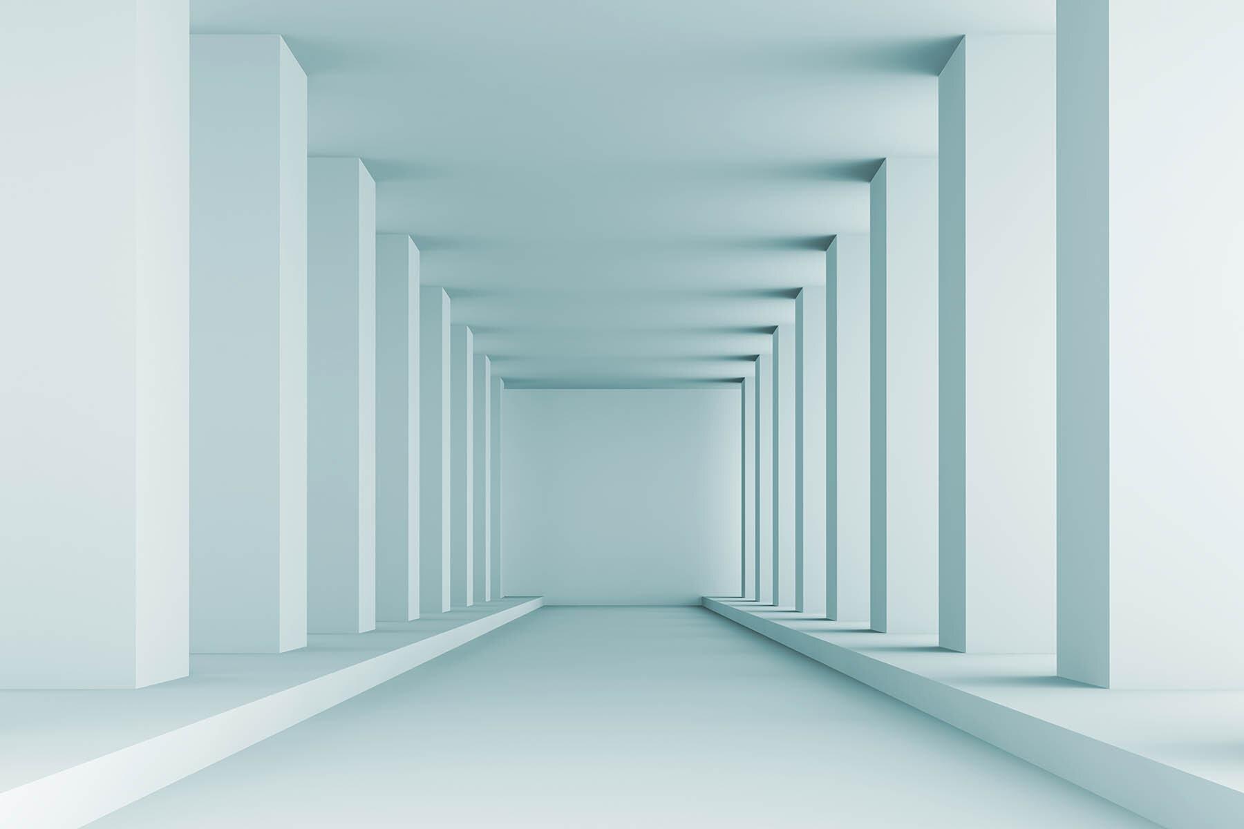 PlateART Duschrückwand mit Motiv 3D Halle