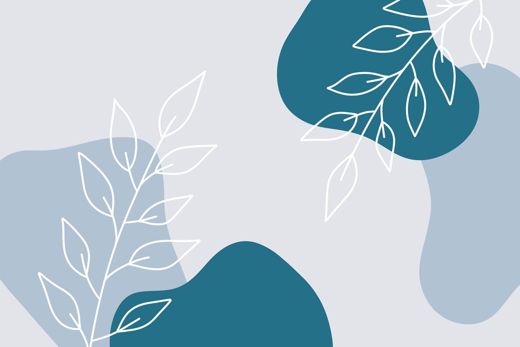 PlateART Wandverkleidung mit Motiv Grafik Zweige