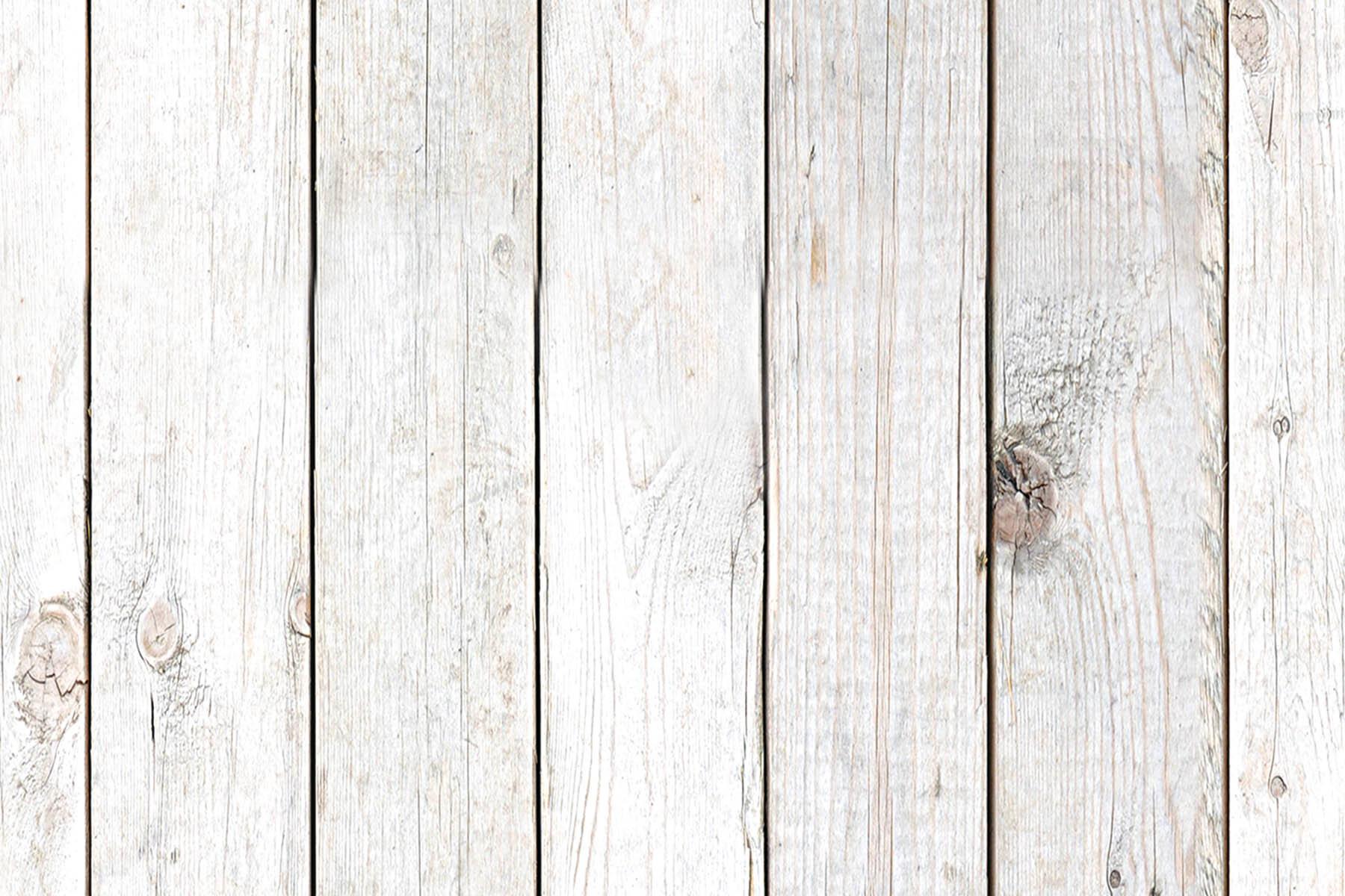 PlateART Duschrückwand mit Motiv Holz Weiße Bretter