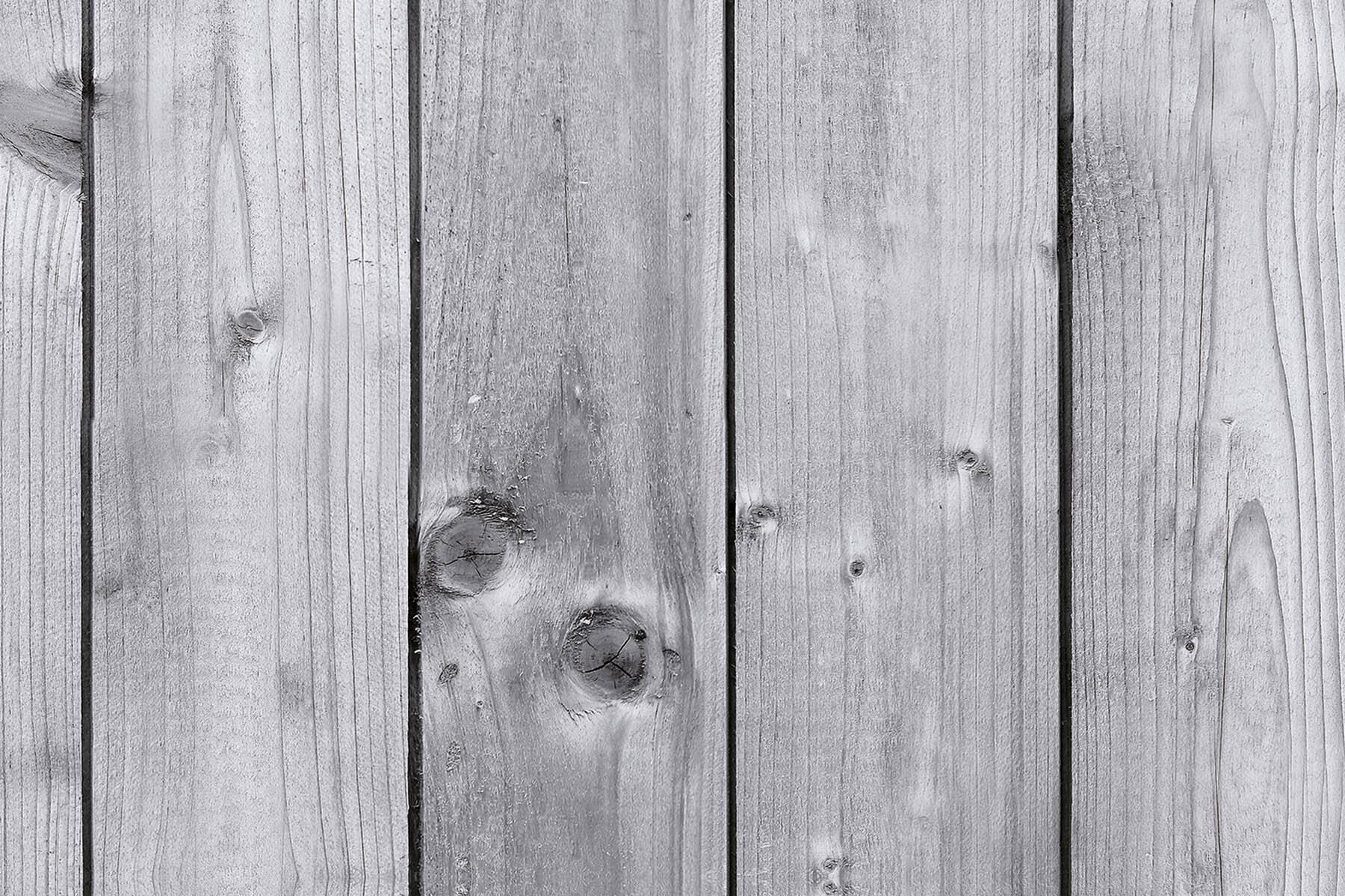 PlateART Duschrückwand mit Motiv Holz graue Bretter