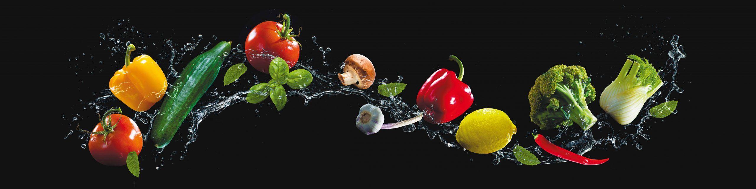 PlateART Küchenrückwand mit Motiv Gemüse