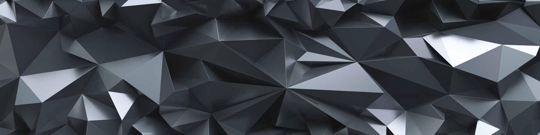 PlateART Küchenrückwand mit Motiv Kristall Schwarz