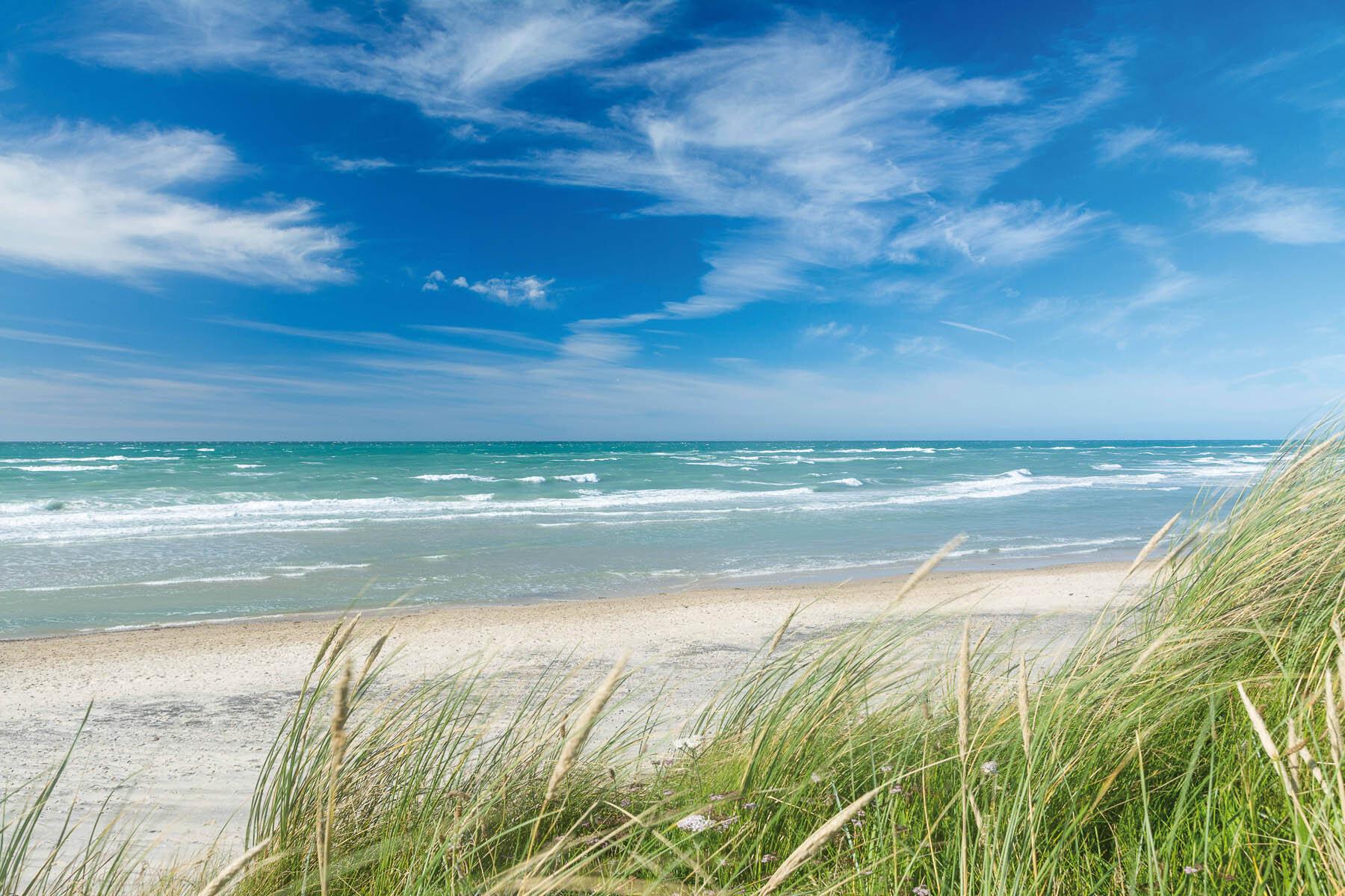 Dusche PlateART Duschrückwand mit Motiv Strand und Meer