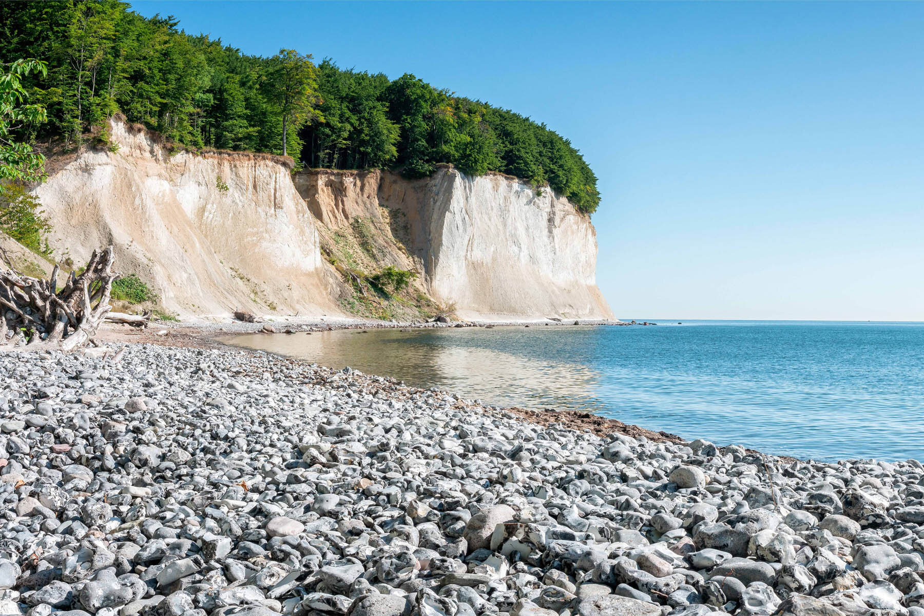 PlateART Duschrückwand mit Motiv Strand und Meer Rügen