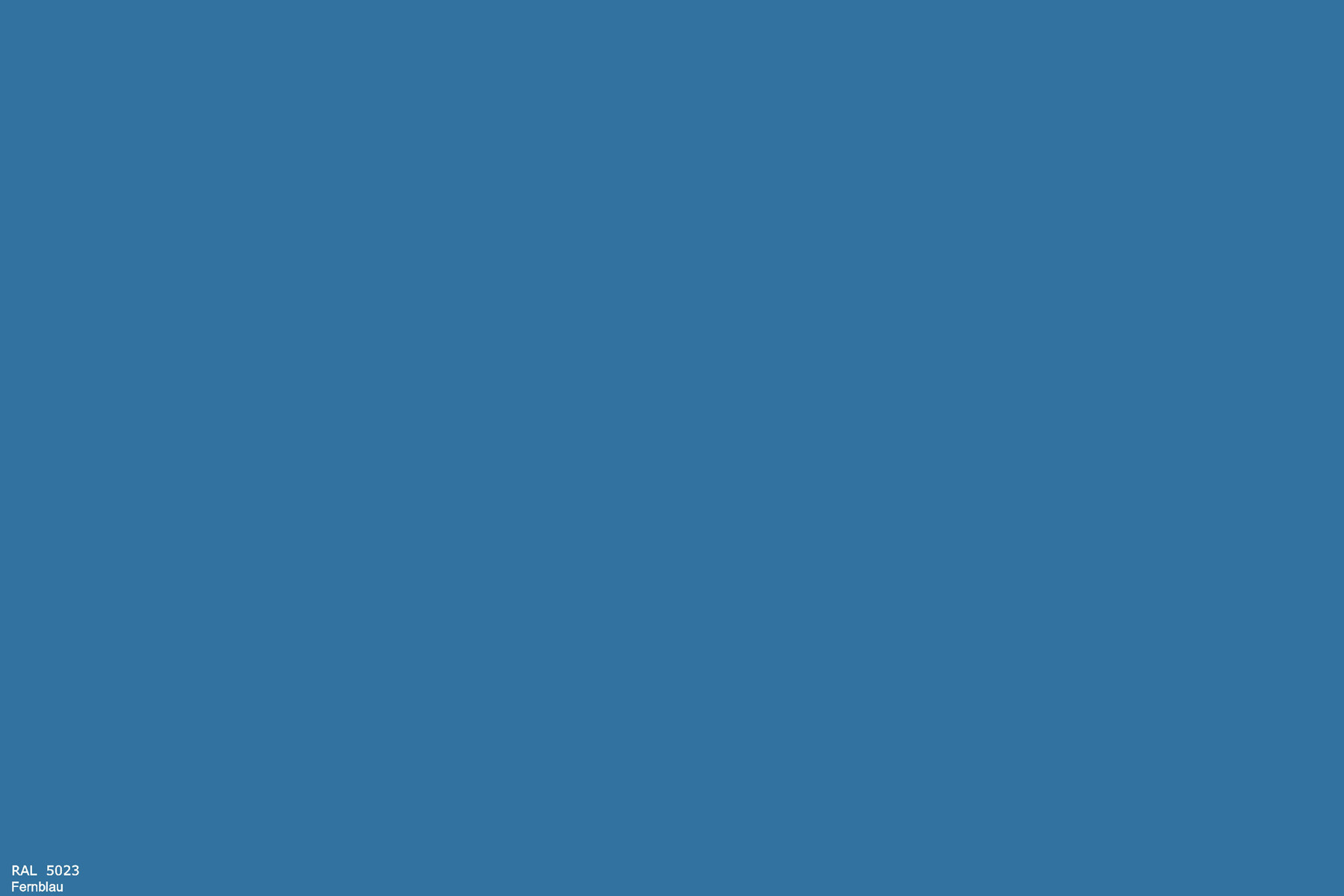 PlateART Duschrückwand mit Motiv RAL 5023 Fernblau