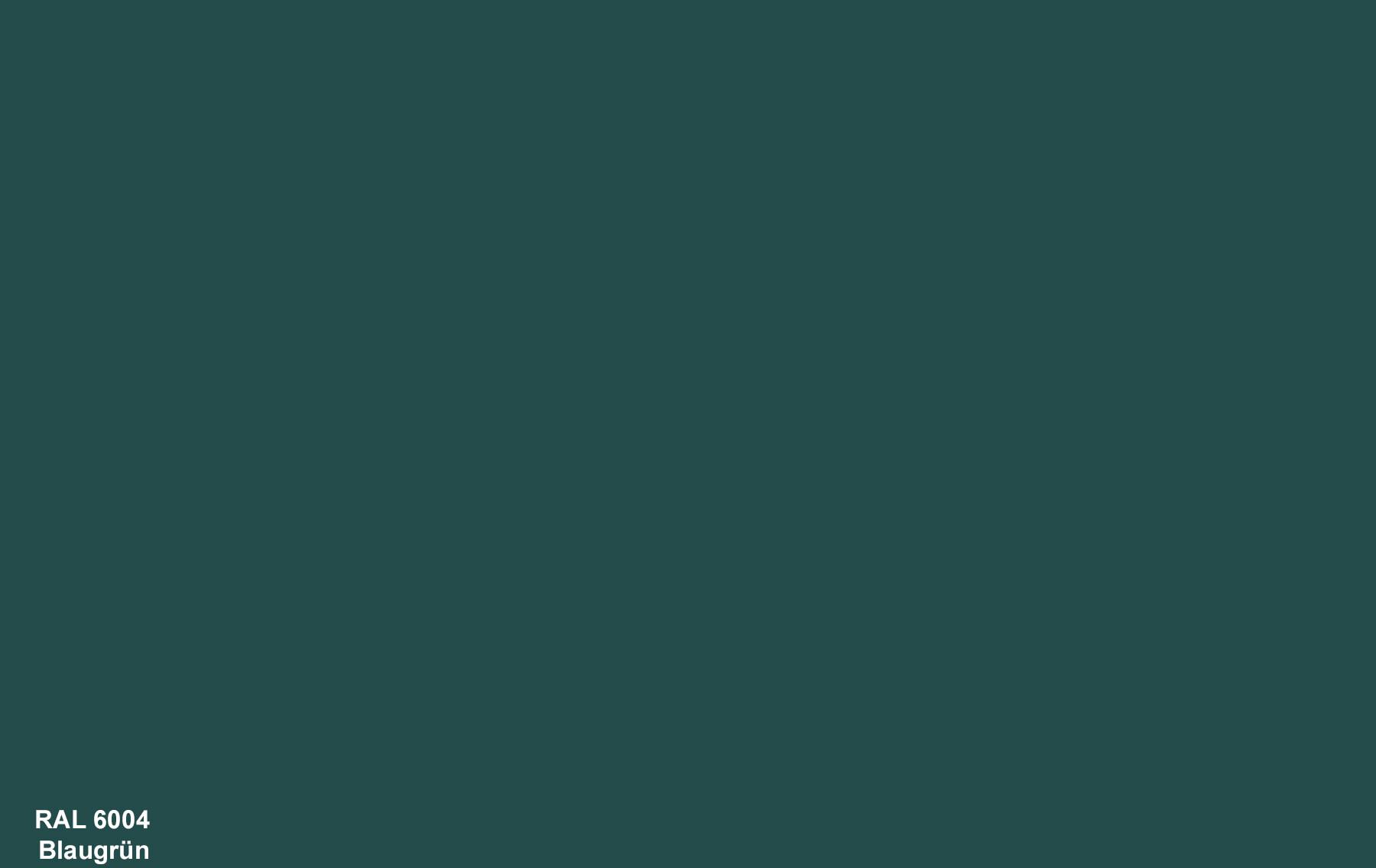 PlateART Duschrückwand mit Motiv RAL 6004 Blaugrün