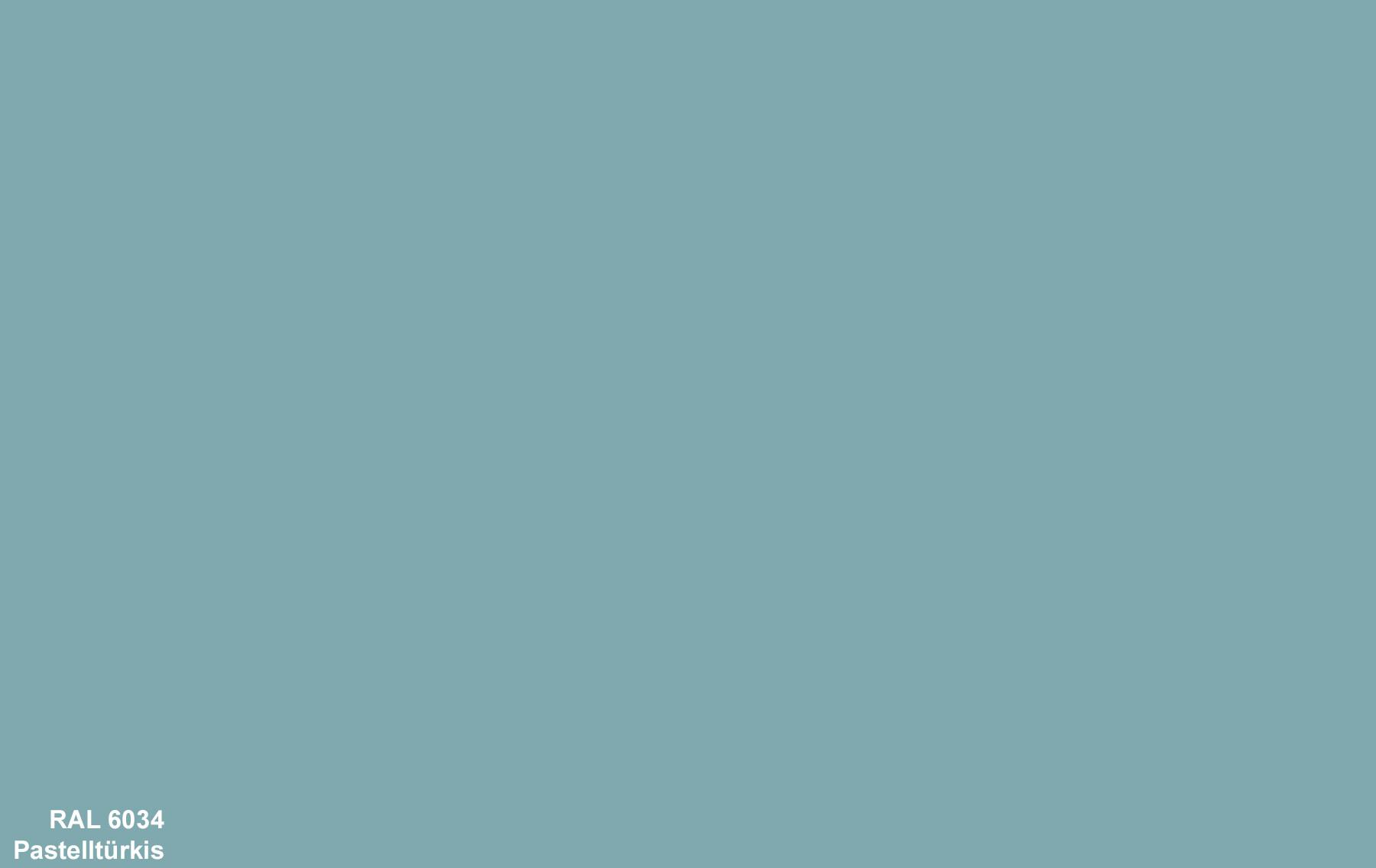 PlateART Duschrückwand mit Motiv RAL 6034 Pastelltürkis