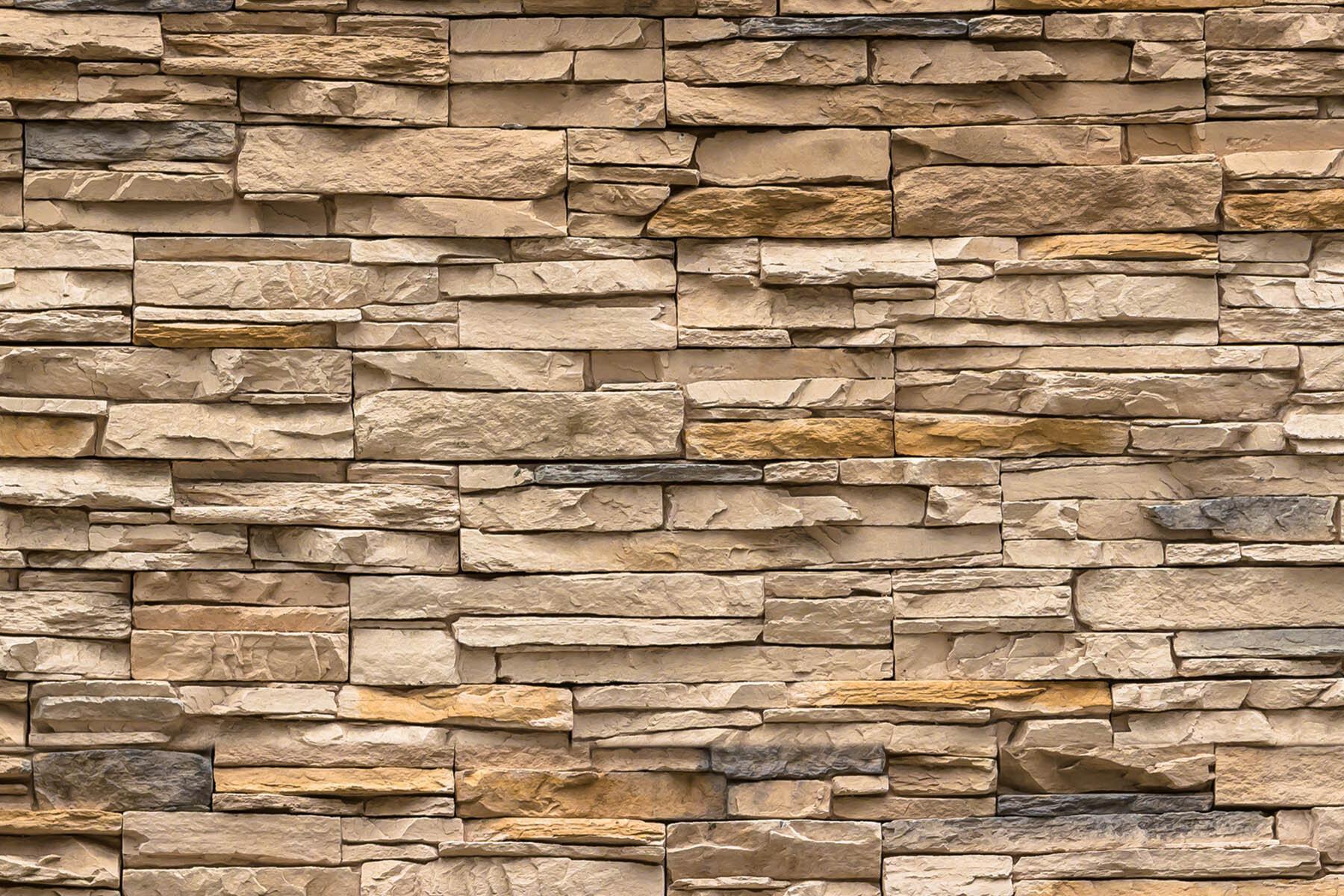 PlateART Duschrückwand mit Motiv Stein Sandstein