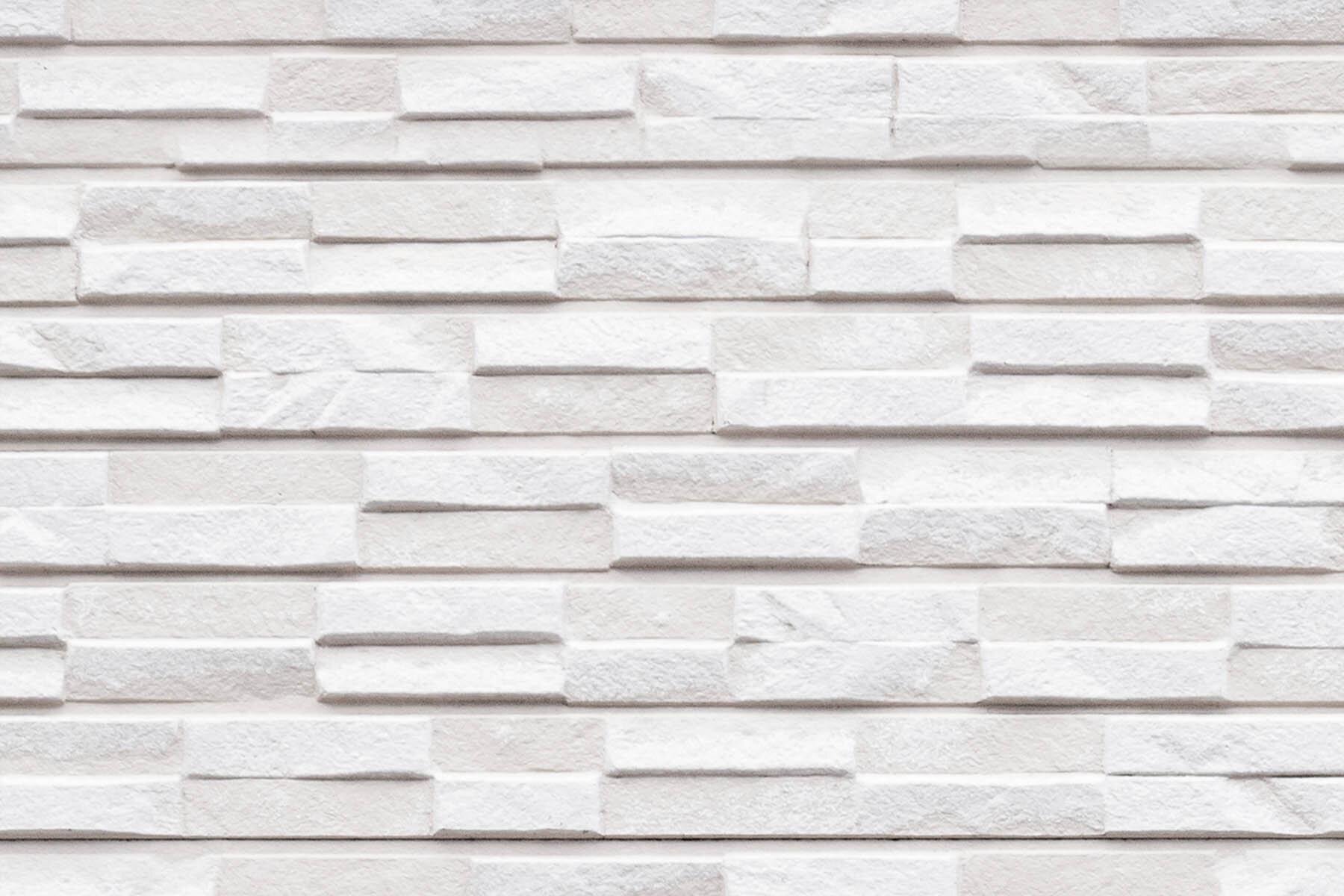 PlateART Duschrückwand mit Motiv Stein Marmor Weiß
