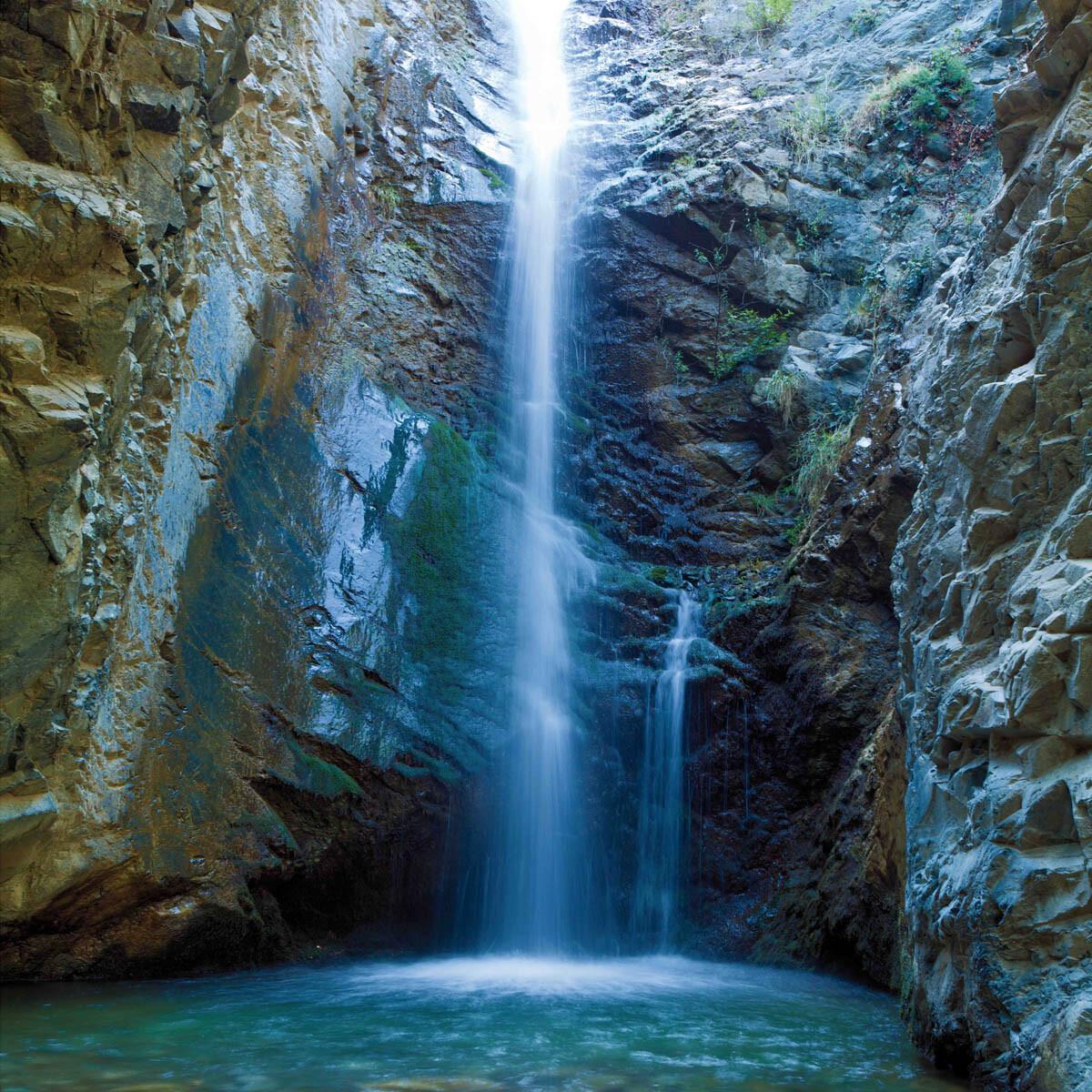 PlateART Duschrückwand mit Motiv Wasserfall