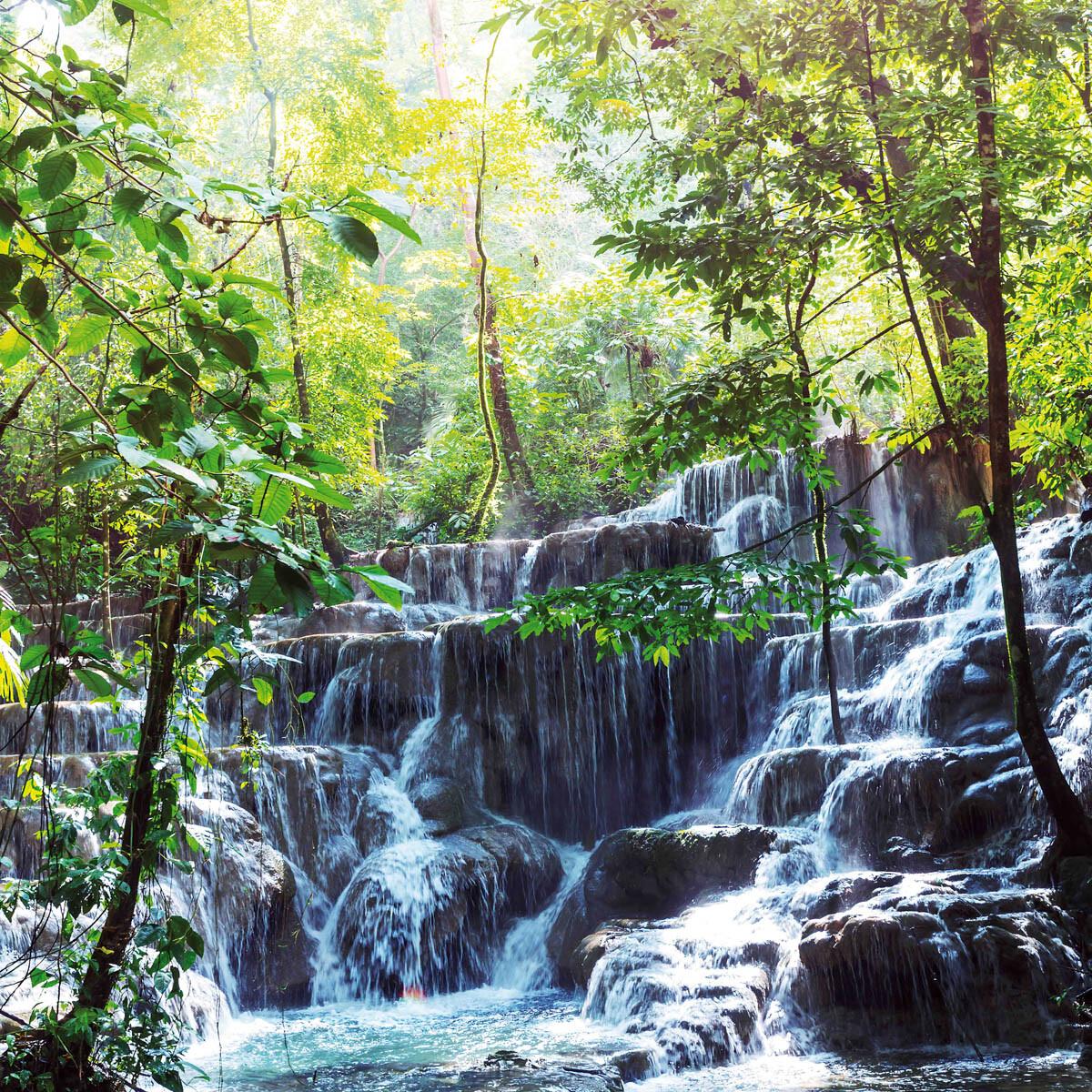 PlateART Duschrückwand mit Motiv Wasserfall WF_09_18