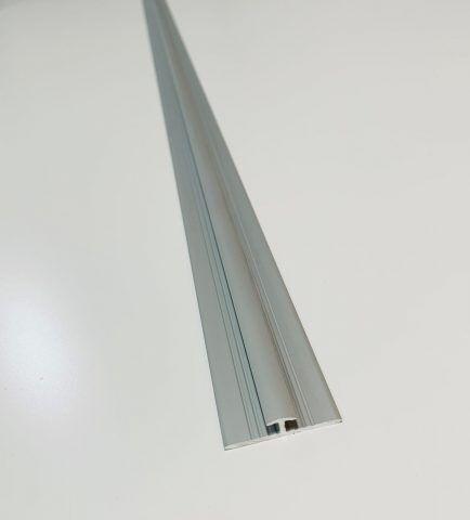Original PlateART 3 mm Strossprofil aus Alu silber